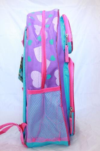 Disney TSUM TSUM Little Girls Cute School Backpack Lunch Box Pink Purple Bag Kid