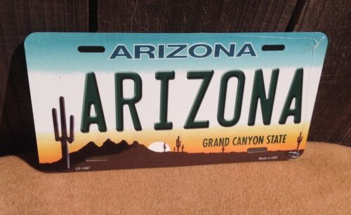 Arizona Grand Canyon State Novelty License Plate Bar Wall Decor