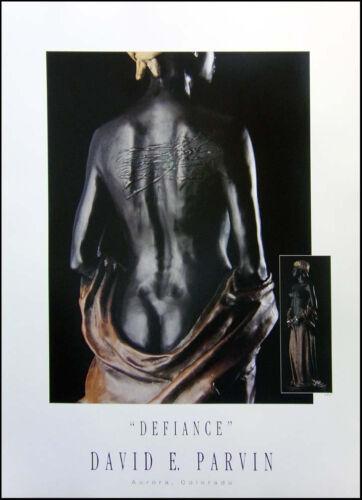 "David Parvin /""Defiance/"" Poster Make an Offer!"