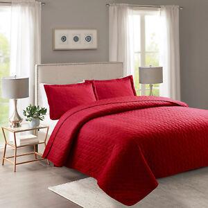 3-Piece-Lightweight-Bedspread-Quilt-Set-Microfiber-Quilts-Prewashed-Queen-King
