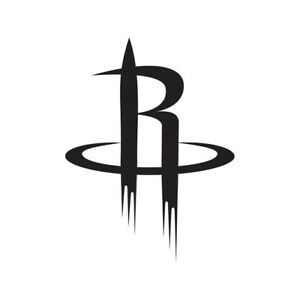 Houston Rockets Lakers NBA Team Logo Decal Stickers ...