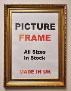 Large Gold Vintage Picture Frames Large Gold Photo Frames Ornate