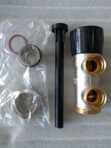 Válvula llave radiador monotubo manual  Orkli 1865