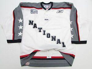 8e0e528dd38 2005 ECHL ALL STAR GAME NATIONAL AUTHENTIC REEBOK 6100 HOCKEY JERSEY ...