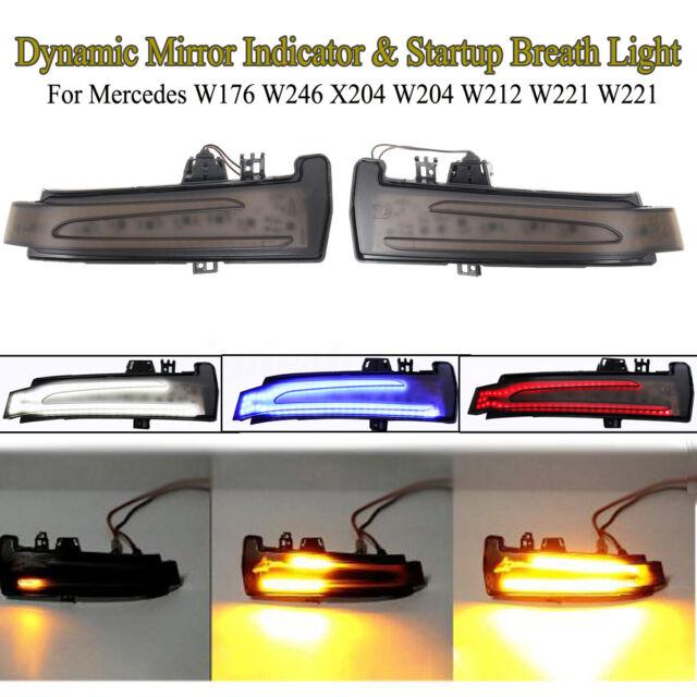 MIRROR INDICATOR TURN SIGNAL BLINKER LAMP RIGHT For Mercedes E W204 W212 W221