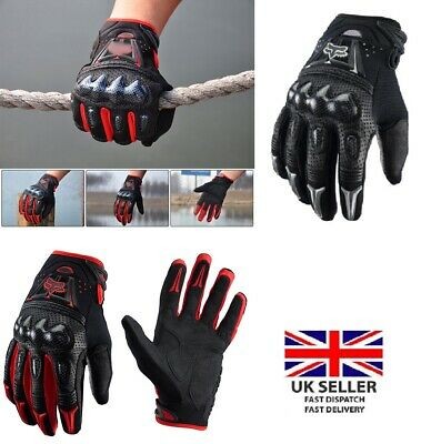 Motorcycle Motorbike Gloves Knuckle Protection Carbon Bike Riding Racing Gloves NüTzlich FüR äTherisches Medulla