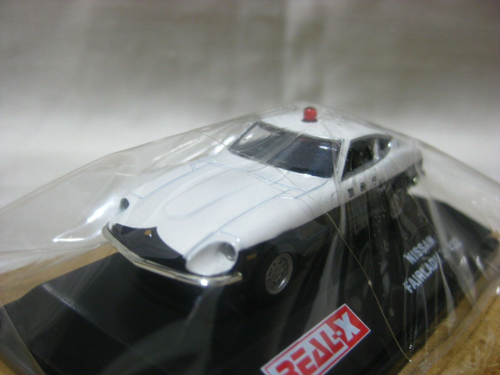 NISSAN FAIRLADY Z 432 Patrolcar 1 72 72 72 Scale REAL-X FAIRLADY HISTORIES Collection d96d72