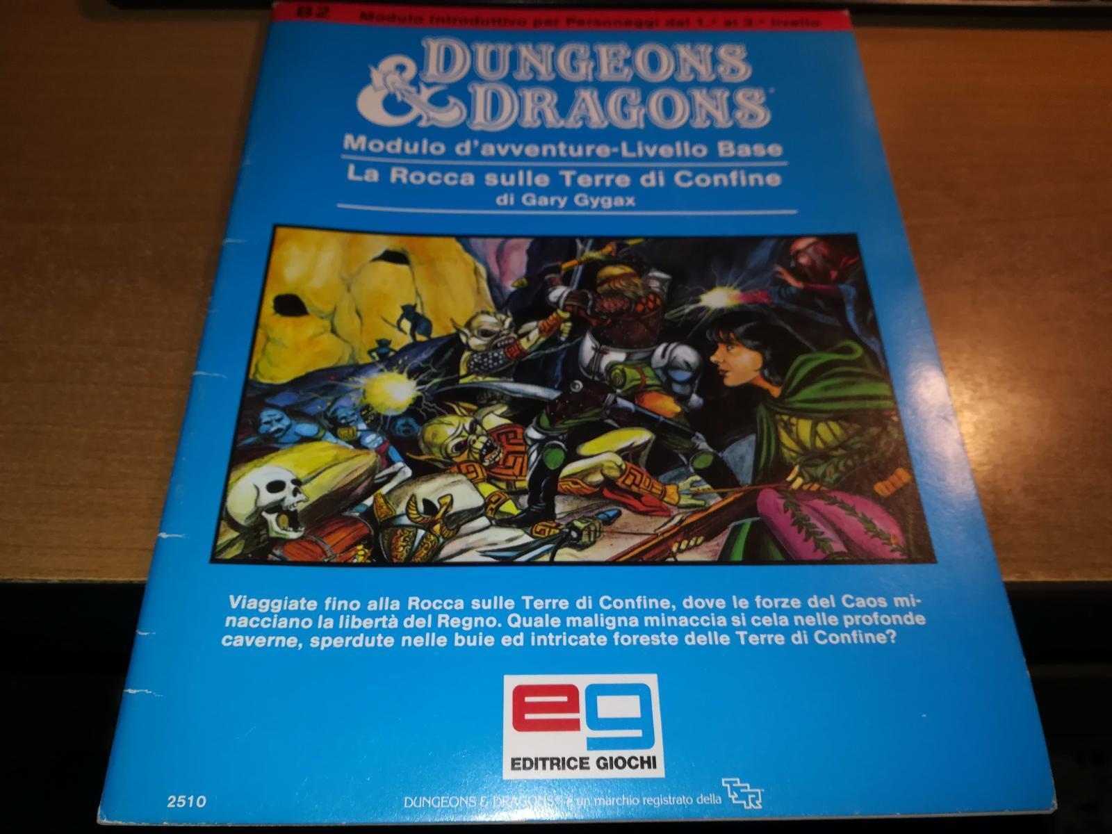 Dungeons & dragons eg LA ROCCA SULLE TERRE  DI CONFINE ITA STAMPATO IN SPAGNA  tutti i prodotti ottengono fino al 34% di sconto
