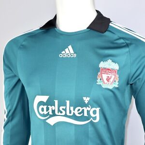 LIVERPOOL 2008-09 ADIDAS CL CHAMPIONS LEAGUE THIRD L/S FOOTBALL SHIRT FOOTY TOP
