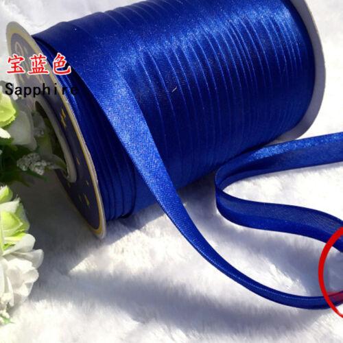 90 Yards Bias Binding Tape Roll Polyester Satin Edge Sewing Trims DIY Craft Home