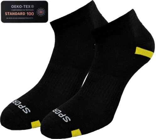 Training-Socken prof Funktionssocken 35-46 Laufsocken 4 Paar Kurzschaft Sport