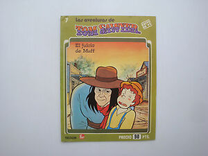 Details Sur Livre Ancien Dessin Anime Tom Sawyer Fher N 7 En Espagnol 23 30cm