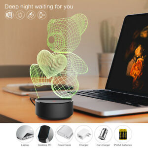 3D Bear Illusion Lamp的圖片搜尋結果