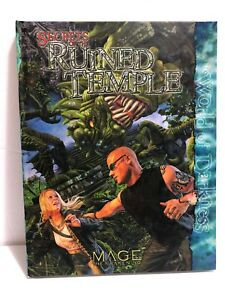 Secrets-of-the-Ruined-Temple-for-Mage-The-Awakening-RPG-2006-Hardcover-NEW