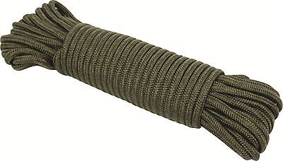 Strong Highlander Olive Utility Rope 7MM x15M Durable