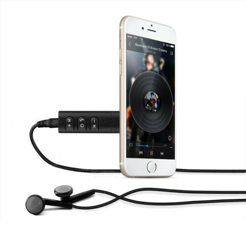 Handsfree Wireless Car Wireless Receiver 3.5mm AUX Music Stereo Audio Adapter