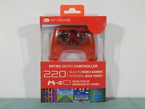 My-Arcade-Plug-N-039-Play-Retro-Micro-Controller-w-Built-In-Games-NEW