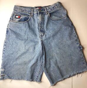 Details about Vintage Men's 90's Tommy Hilfiger Freedom Jeans Denim Spell Out Logo 3334