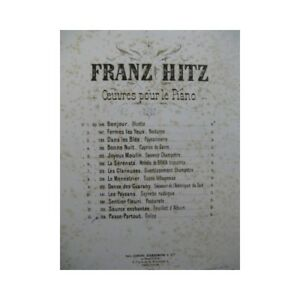 HITZ-Franz-Passe-Partout-piano-partition-sheet-music-score