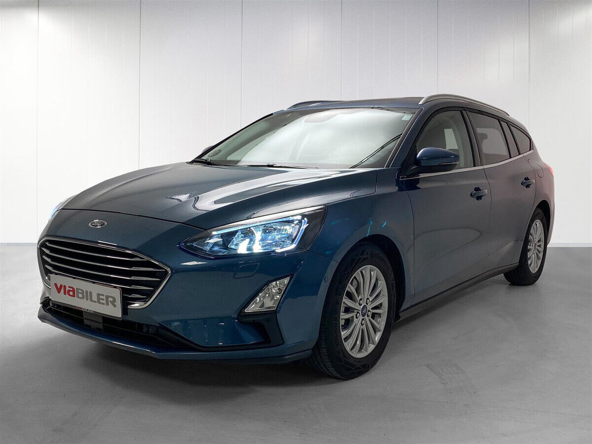 Ford Focus 1,5 EcoBlue Titanium stc. aut. 5d - 279.900 kr.