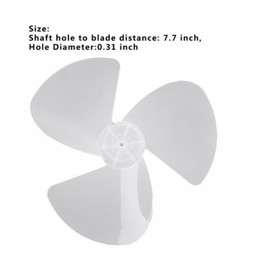En plastique 16 in environ 40.64 cm pales de ventilateur trois feuilles pour Debout Ventilateur sur pied table fanner