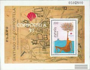 Espagne Bloc 54 (édition Complète) Neuf 1993 Compostelle