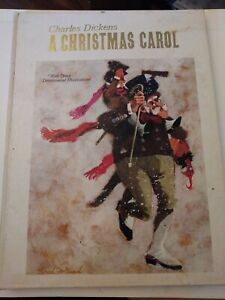 Vintage Charles Dickens A Christmas Carol Pop Up Hallmark Book | eBay