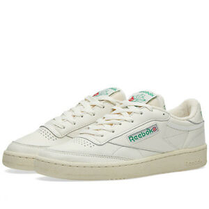 REEBOK-CLUB-C-1985-TV-VINTAGE-COLOR-CHALK-GREEN-STYLE-DV6434