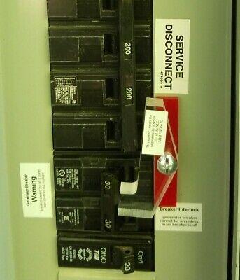 GEN-2 Generator Interlock Kit for Generator breaker//main above one another