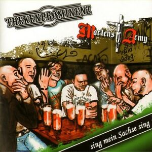 MARTENS-ARMY-THEKENPROMINENZ-SPLIT-SING-MEIN-SACHSE-SING-CD-NEUWARE