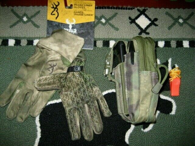 BROWNING HELL'S CANYON SPEED LINER GLOVE WITH COMPACT HIP PAC- SPRING TURKEY