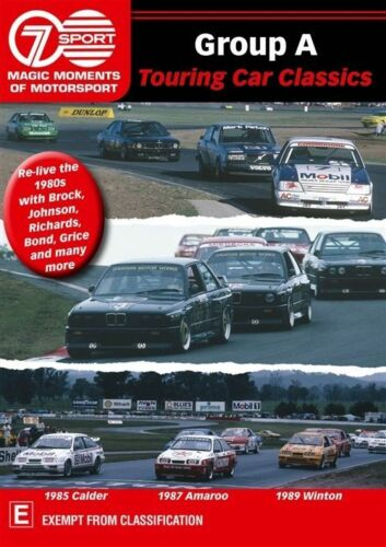 1 of 1 - Group A Touring Car Classics   Magic Moments in Motorsport (DVD, 2013)