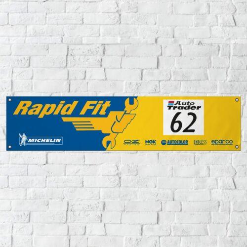 Ford Mondeo BTCC Banner Garage Workshop PVC Sign Touring Car Motorsport Display
