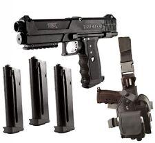 Pistol TPX Tippmann paintball tipx gun markerStarter Kit, Black