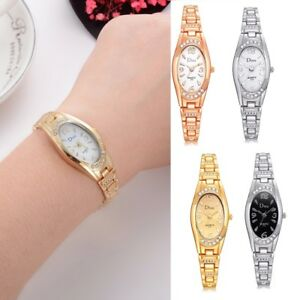 Fashion-Womens-Ladies-Watches-Crystal-Stainless-Steel-Analog-Quartz-Wrist-Watch