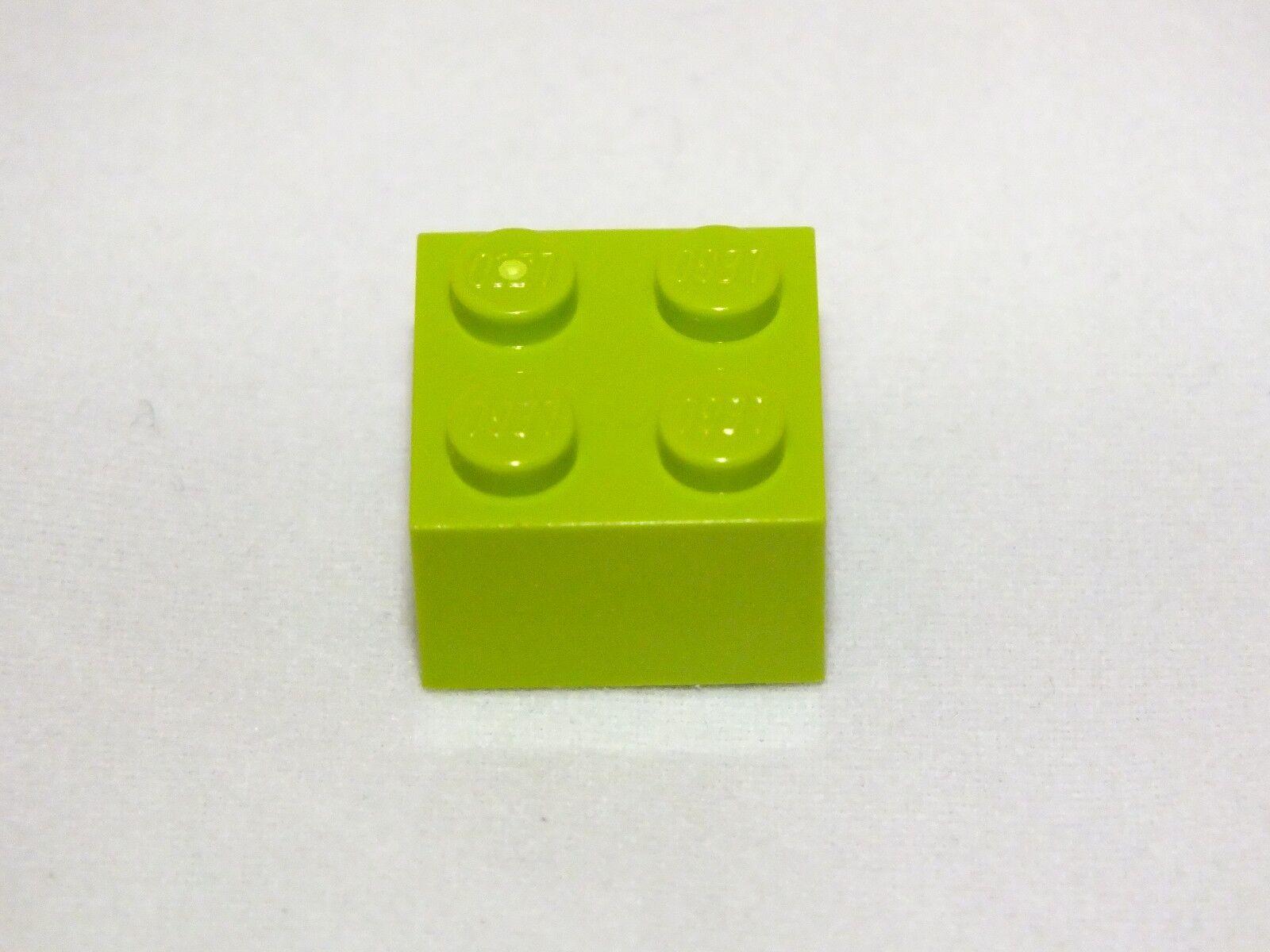 Lego 2X2 VERT CLAIR Brique Neuf jamais utilisé 425 PIECES