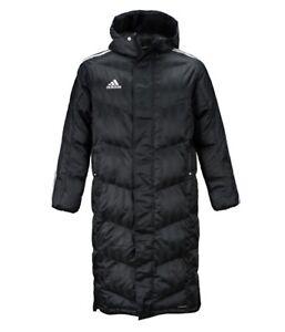 Adidas Men 2017 18 Shadow Long Padded Jacket Winter Black