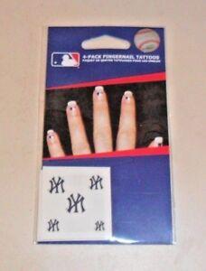 MLB-20-NEW-YORK-YANKEES-FINGERNAIL-TATTOOS-DECALS-FAST-FREE-SHIPPING