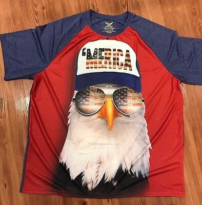 Bald Eagle Men T-Shirt Tee S M L XL 2XL 3XL