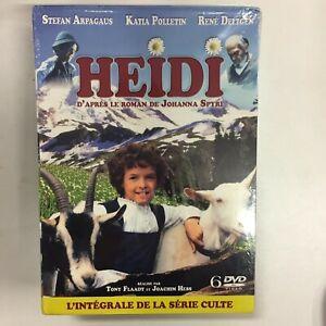 Heidi L'intégrale De La Série Culte Coffret 6 dvd neuf sous blister  c25