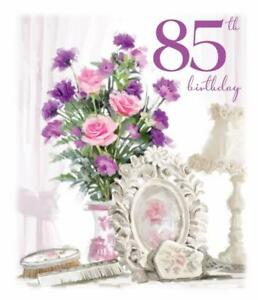 Words of Love ~ Happy 85th Birthday~ Age 85 Glittered ...