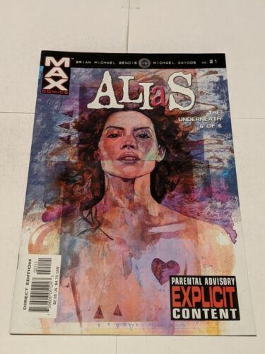 Alias #18 March 2003 Marvel Comics Bendis Gaydos JESSICA JONES