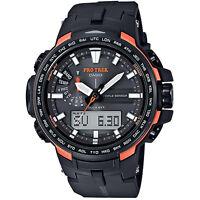 Casio Protrek Prw-6100y-1 Prw-6100y Resin Band Watch Brand