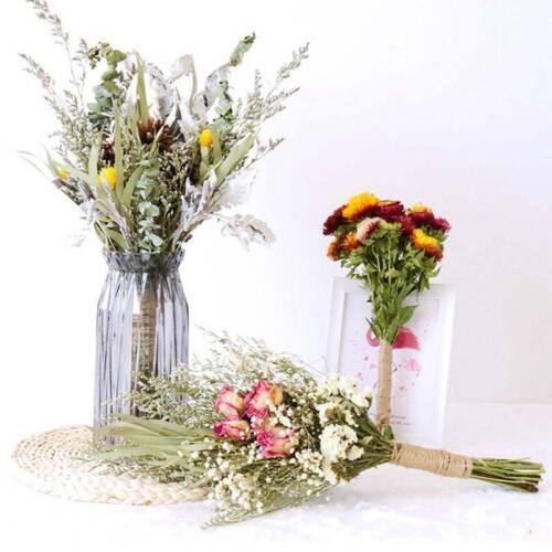 Natural Dried Flower Gypsophila Bouquet Wedding Arrangement Home Decor/> lskn