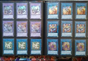 Bonus 200 Yugioh Cards Lot Yu-gi-Oh Cards TCG Binder Holo Rares Deck Ghost Sec