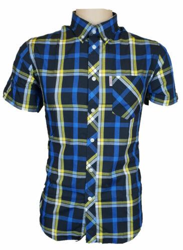 Brutus Mens Shirts MOD Checked Pocket Collar T-Shirt Lightweight Soft UK S-2XL