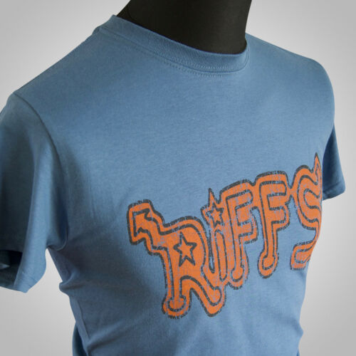 The Riffs Movie Themed Retro T Shirt The Warriors 70/'s Gangs Gramercy Cool Blue