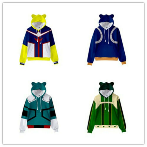 My Hero Academia Sweater Hoodie Pullover Shirt Clothes Child Student Boys Girls