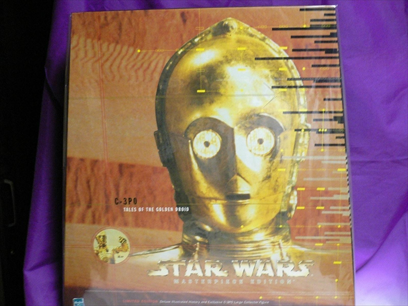Star Wars Masterpiece Edition C-3PO 12 in (environ 30.48 cm) figure from Japan F S
