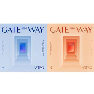 Album+Folded Poster+Extra Photocards Set Gateway Fantagio Astro Time Traveler ver. 7th Mini Album